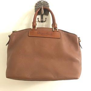 Authentic Florentin vachetta leather satchel